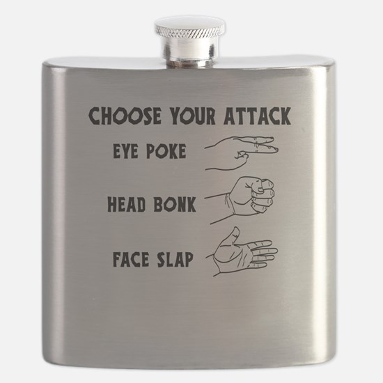 Choose Your Weapon You Numskull Flask