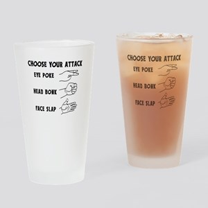 Choose Your Weapon You Numskull Drinking Glass