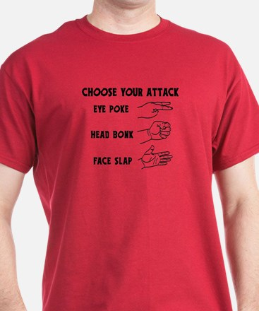 Choose Your Weapon You Numskull T-Shirt