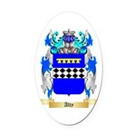 Alty Oval Car Magnet