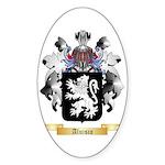 Aluisio Sticker (Oval)