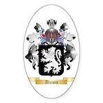 Aluisio Sticker (Oval 50 pk)