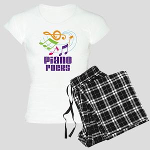 Piano Rocks Women's Light Pajamas