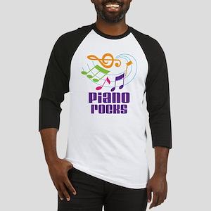 Piano Rocks Baseball Jersey