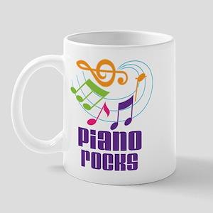 Piano Rocks Mug