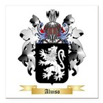Aluiso Square Car Magnet 3