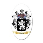 Aluiso 35x21 Oval Wall Decal
