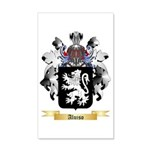 Aluiso 35x21 Wall Decal