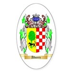 Alvarez Sticker (Oval 50 pk)