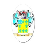 Alvaro 35x21 Oval Wall Decal