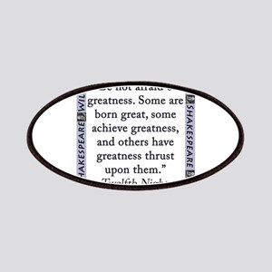 Be Not Afraid of Greatness Patch
