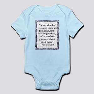 Be Not Afraid of Greatness Infant Bodysuit