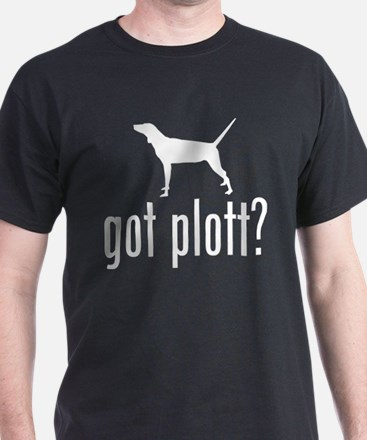Plott Hound Black T-Shirt