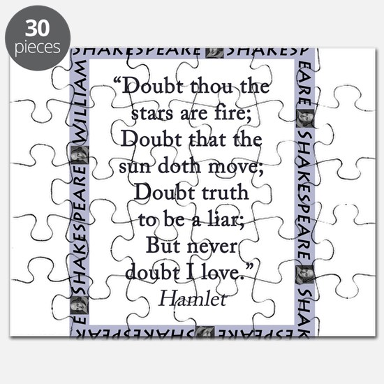 Doubt Thou The Stars Are Fire Puzzle