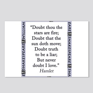 Doubt Thou The Stars Are Fire Postcards (Package o
