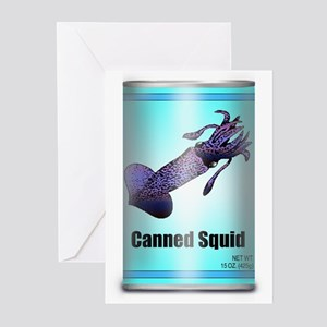 Canned Squid - Greeting Cards (Pk of 10)
