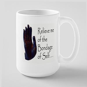 Bondage of Self Large Mug