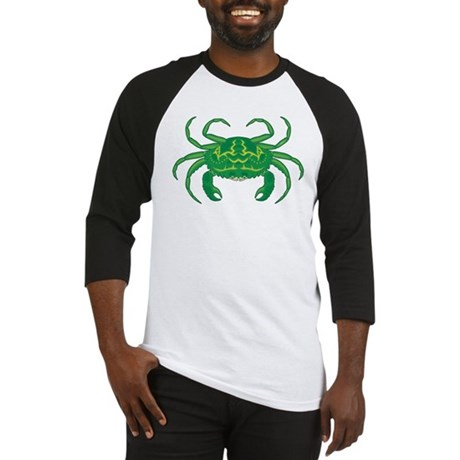 Green Crab Baseball Jersey