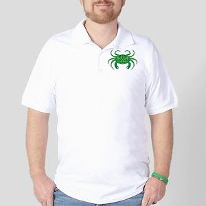 Green Crab Golf Shirt