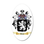Alvisi 20x12 Oval Wall Decal