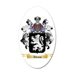 Alvisio 20x12 Oval Wall Decal