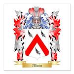 Alwin Square Car Magnet 3