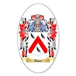 Alwin Sticker (Oval 50 pk)