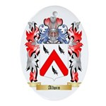 Alwin Ornament (Oval)
