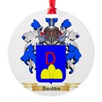 Amaddio Round Ornament