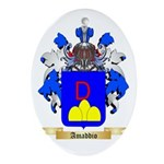 Amaddio Ornament (Oval)