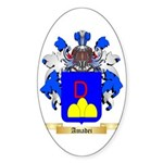 Amadei Sticker (Oval 50 pk)