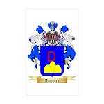 Amadieu Sticker (Rectangle 50 pk)