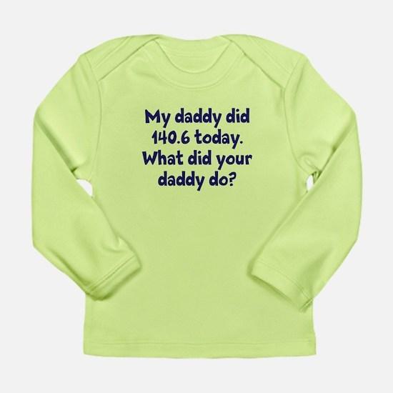 BRO AND SIS Long Sleeve Infant T-Shirt