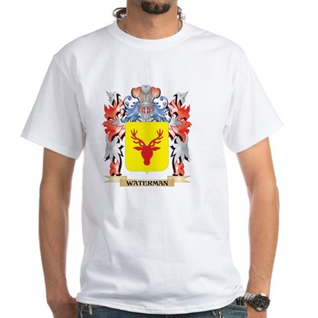 Waterman Coat of Arms - Family Crest T-Shirt