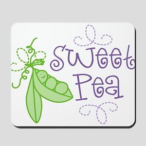 Sweet Pea Mousepad