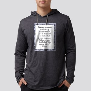 To Sleep: Perchance to Dream Mens Hooded Shirt