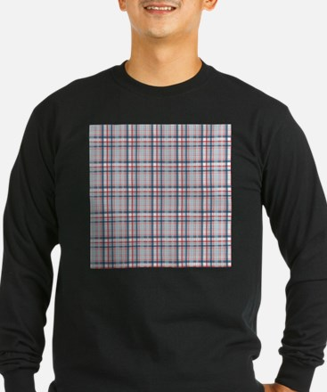 Patriotic Plaid Print T
