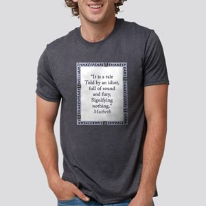 It Is a Tale Told By An Idiot Mens Tri-blend T-Shi