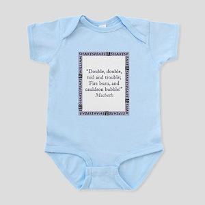Double, Double, Toil and Trouble Infant Bodysuit