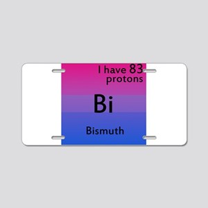 Bismuth Aluminum License Plate