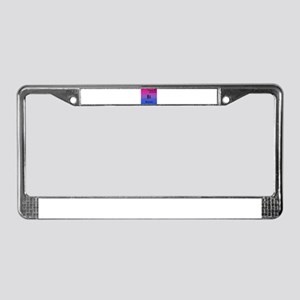 Bismuth License Plate Frame
