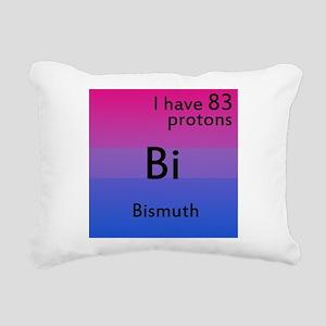 Bismuth Rectangular Canvas Pillow