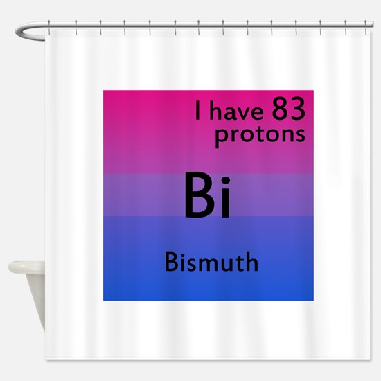 Bismuth Shower Curtain
