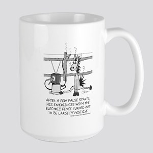 Electric Fence Large Mug