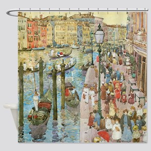 Maurice Prendergast Venice Grand Canal Shower Curt