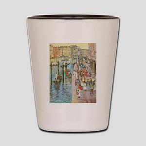 Maurice Prendergast Venice Grand Canal Shot Glass