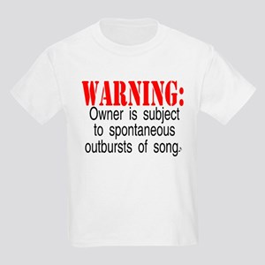 Warning:  Owner subject to sp Kids T-Shirt