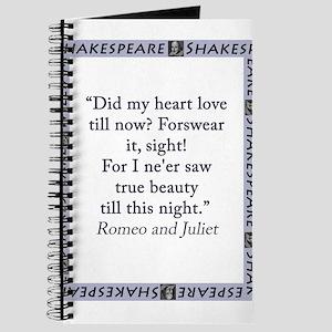 Did My Heart Not Love Till Now Journal