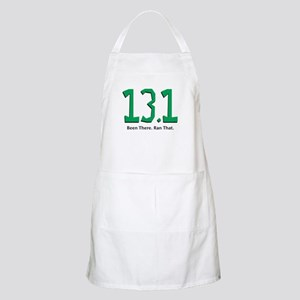 13.1 Been there. Ran that. Apron