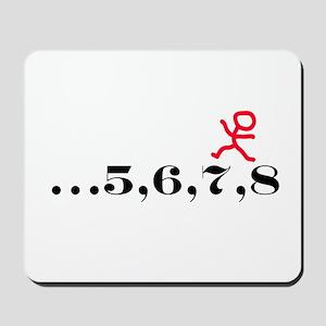 5,6,7,8 Mousepad
